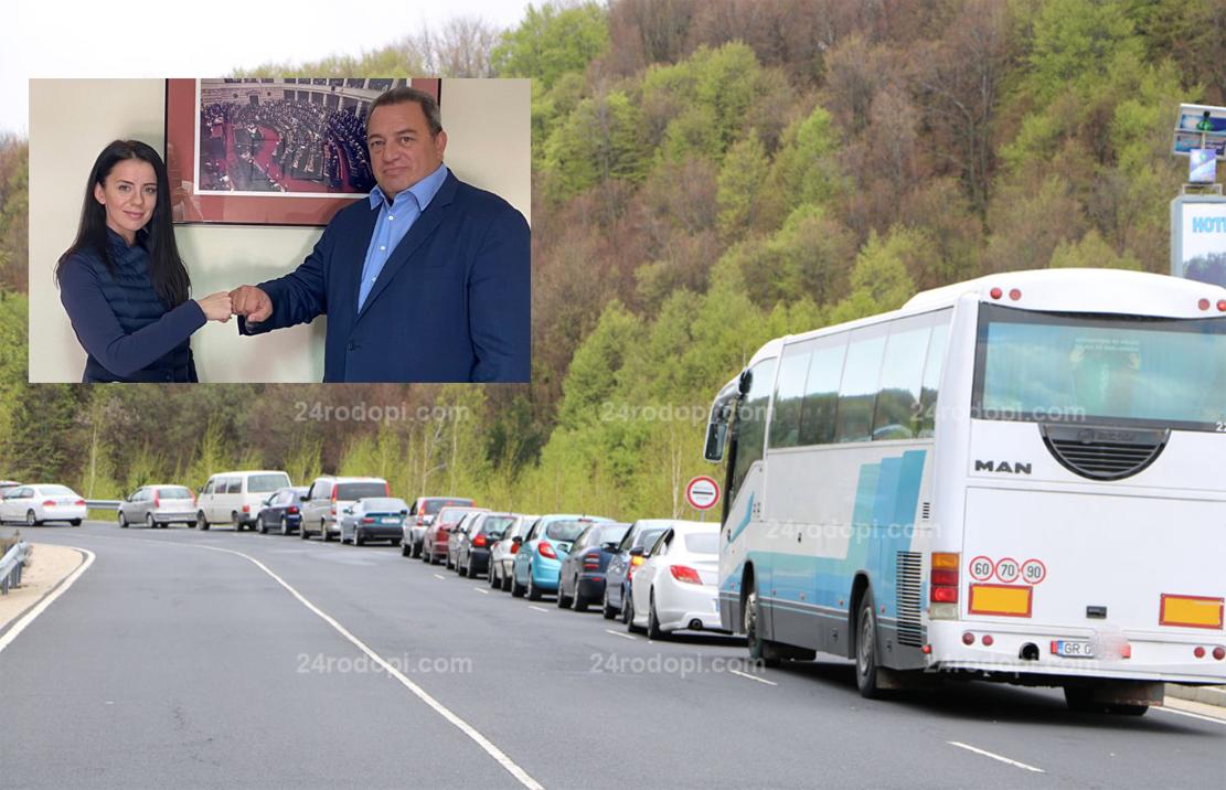 """Гръцки депутат пред Петя Михалевска: Време е за автобуси през """"Маказа"""""""
