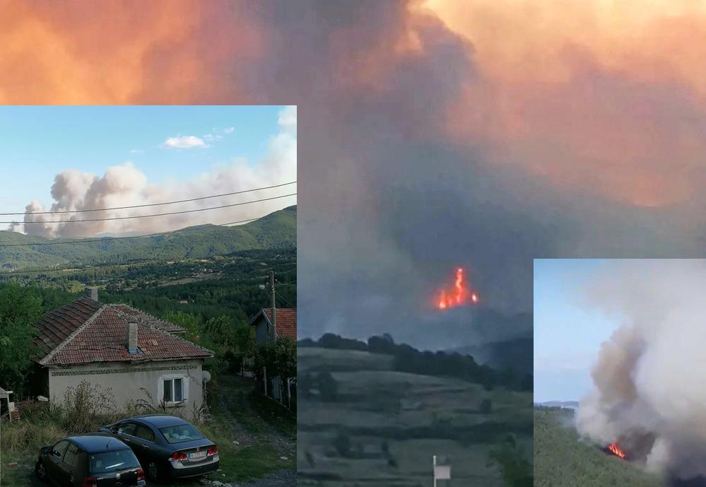 Пламъците са локализирани, огнеборец №1 в България край пожара в Кирковско