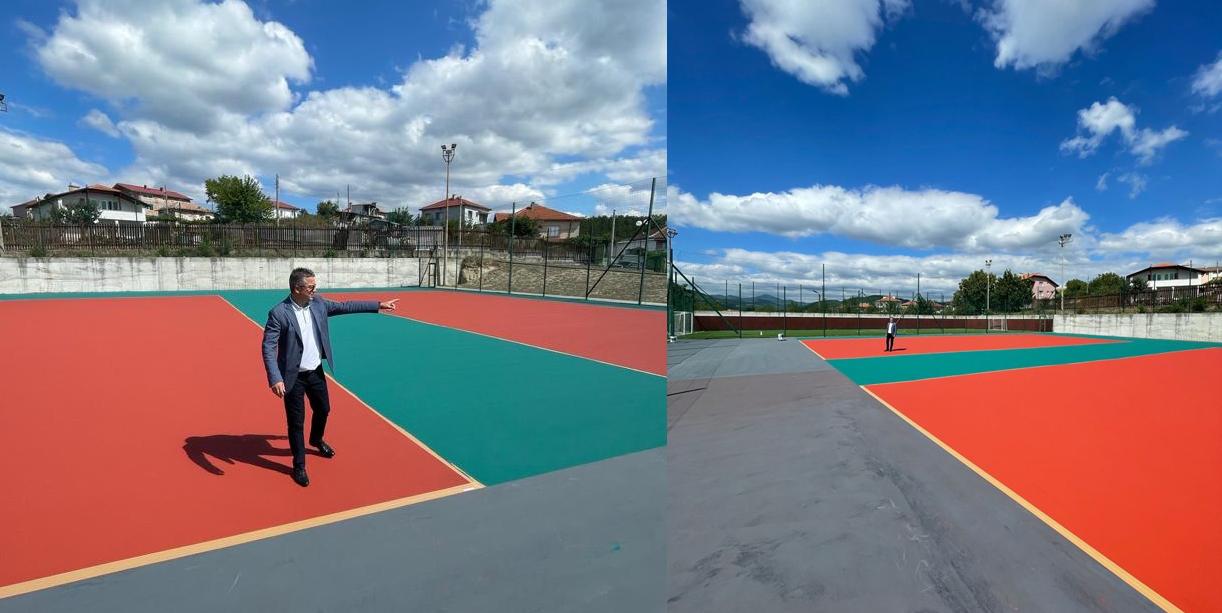 Тенис кортове с акрилно покритие в Джебел
