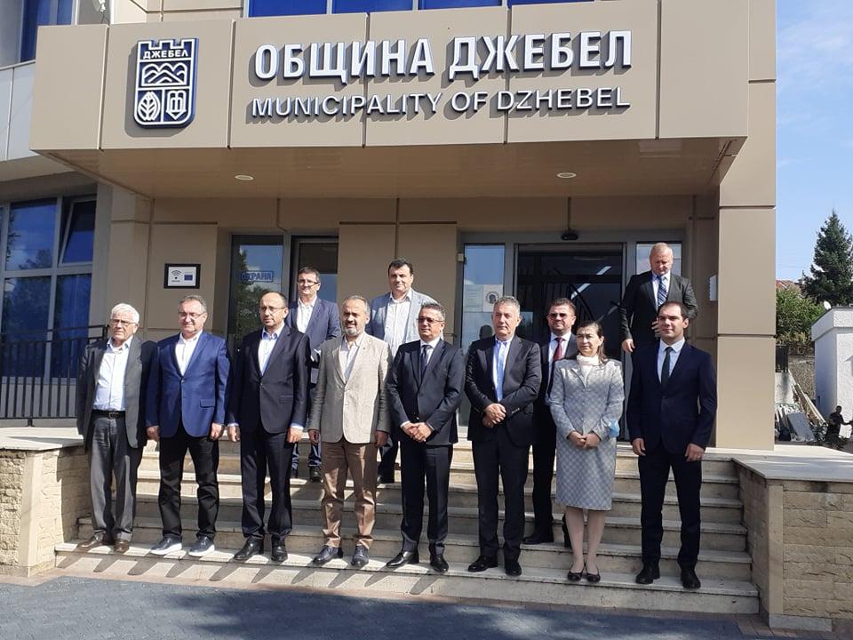 Джебел посрещна кмета на Бурса, Алинур Акташ очарован от…(снимки)