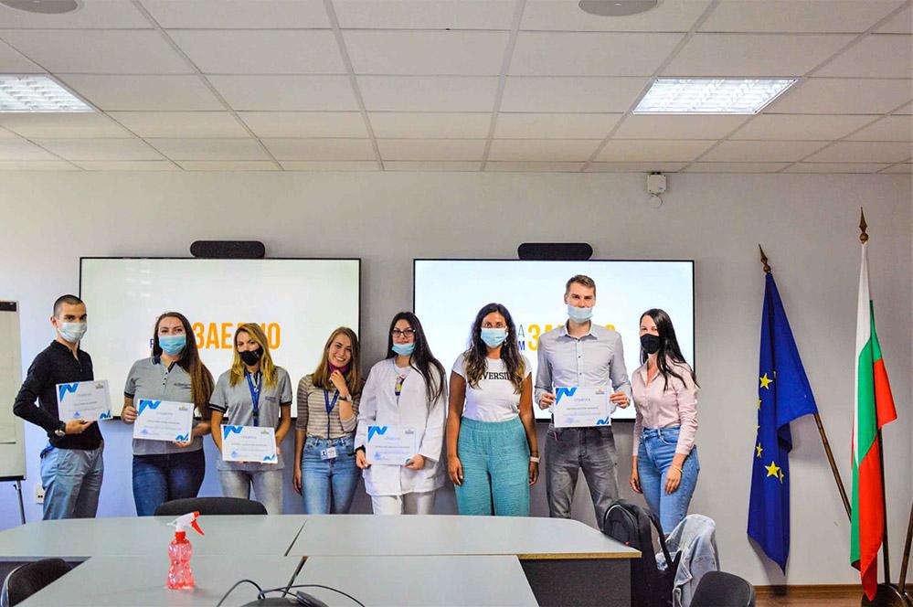 """""""Дънди"""" изпрати стажантите, специална мисия за студентите в Крумовград…"""