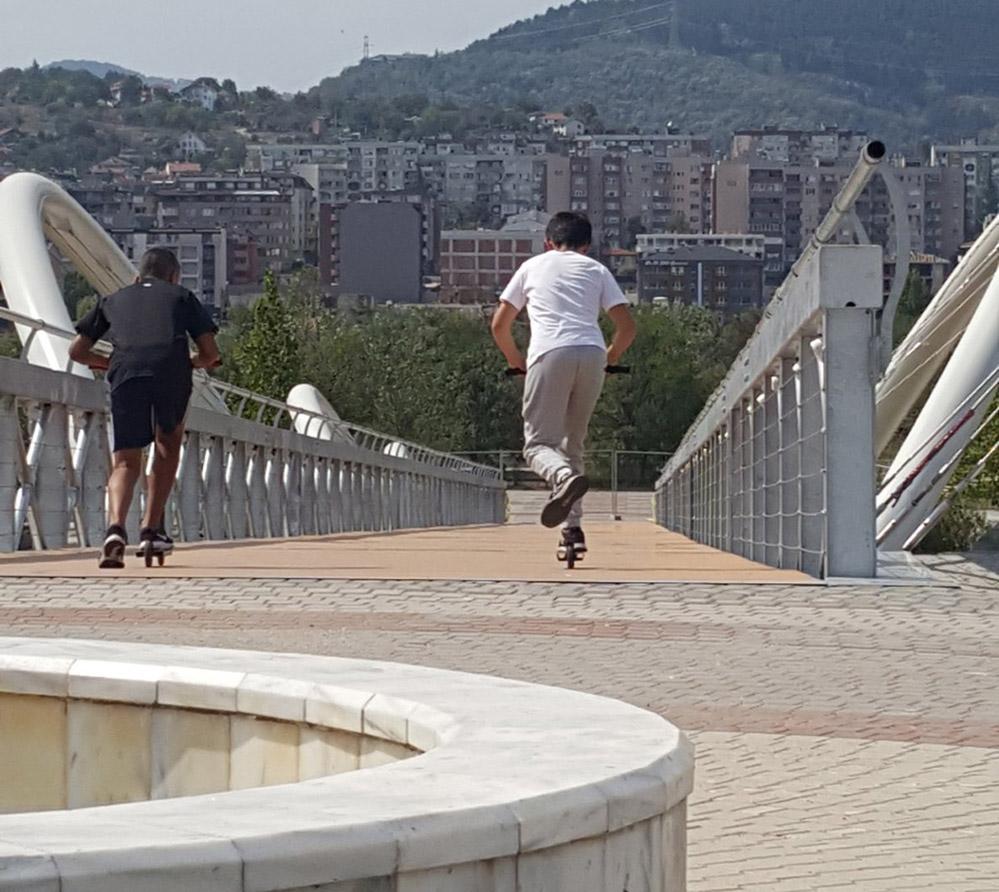 Адреналин по новия мост