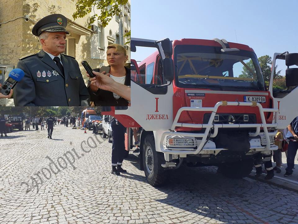 Шефът на огнеборците: 320 пожара през годината, а край Старово причината е…