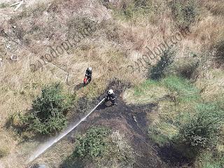 13 огнеборци гасиха пет пожара