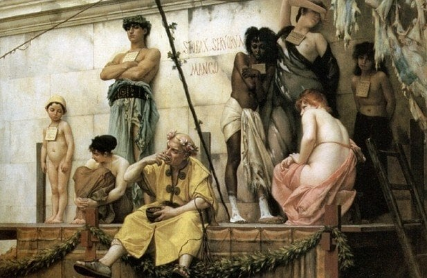 Те ви смятат за рая: Търг за душите на робския пазар