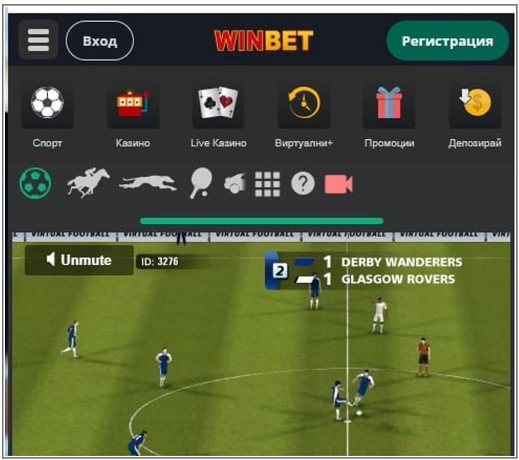 На какви видове виртуални спортове можем да залагаме в Уинбет България?
